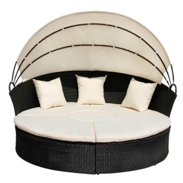 Sonneninsel Polyrattan Lounge