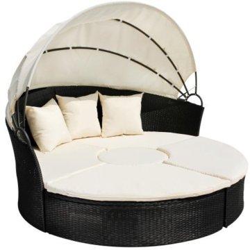 Sonneninsel Polyrattan Lounge