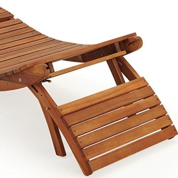 Sonnenliege Holz Akazie